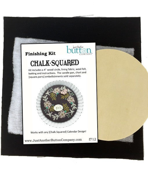 Hands On/JABC ~ Chalk Squared Finishing Kit for Candle Pan