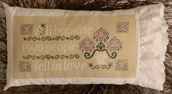 Cherry Hill Stitchery ~ All Because Two People Fell In Love