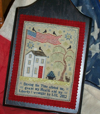 Chessie & Me ~ Grand Olde Flag Sampler