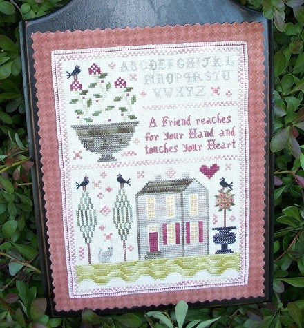 Chessie & Me ~ Hand of Friendship Sampler