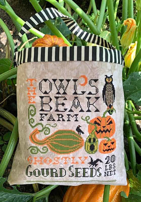 Carriage House Samplings ~ Halloween Seed Sack
