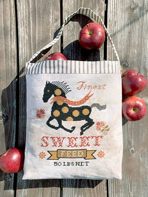 Carriage House Samplings ~ Horse Feed Sack