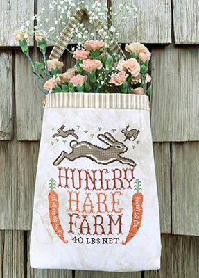 Carriage House Samplings ~ Hungry Hare Feed Sack
