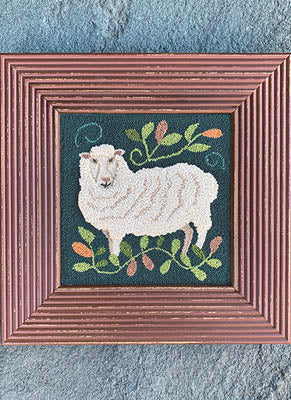 Carriage House Samplings ~ Tully Wooly (punchneedle)