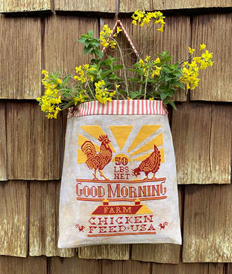 Carriage House Samplings ~ Chicken Feed Sack