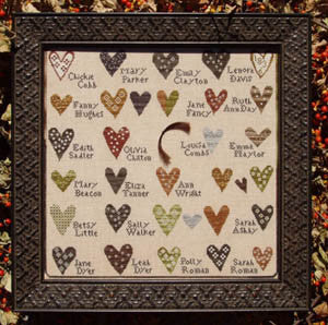 Carriage House Samplings ~ Friendship Sampler