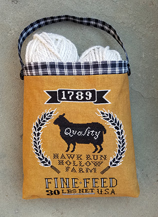 Carriage House Samplings ~ Sheep Feed Sack