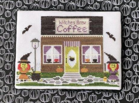 Little Stitch Girl ~ Spooky Hollow #2 ~ Coffee Shop