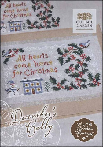 Cottage Garden Samplings ~ December's Holly