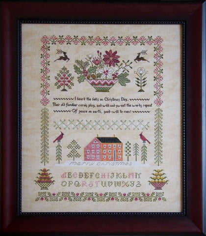 Cottage Garden Samplings ~ Peace On Earth Sampler