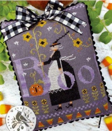 Country Stitches/With Thy Needle & Thread ~ Hilda Boo & Sunflowers, Too!