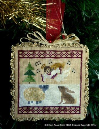 Stitchers Anon Cross Stitch Designs ~ Hark The Herald Angel