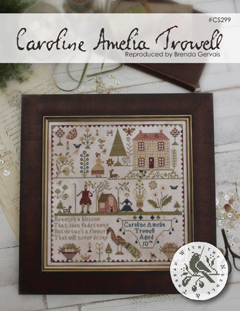 Country Stitches/With Thy Needle & Thread ~ Caroline Amelia Trowell