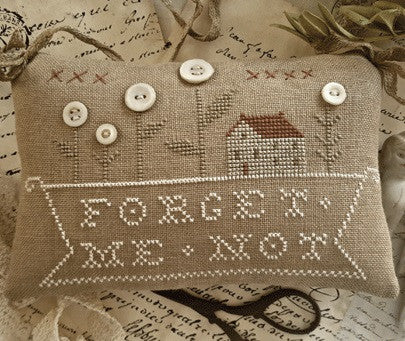 Country Stitches/With Thy Needle & Thread ~ Forget Me Not