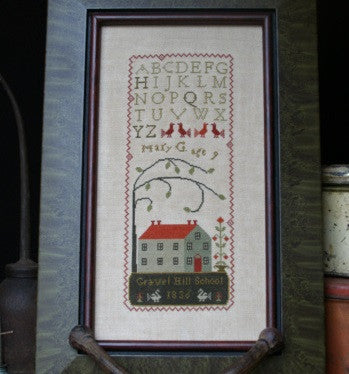 Country Stitches/With Thy Needle & Thread ~ Schoolgirl Sampler