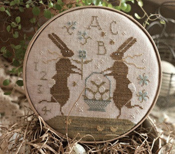 Country Stitches/With Thy Needle & Thread ~ Spring Frolic at Bunny Hill