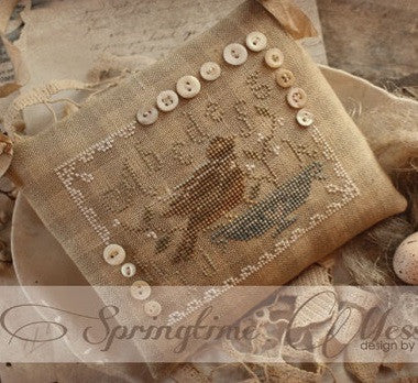 Country Stitches/With Thy Needle & Thread ~ Springtime Messenger