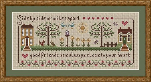 Little Dove Designs ~ Friendship Sampler