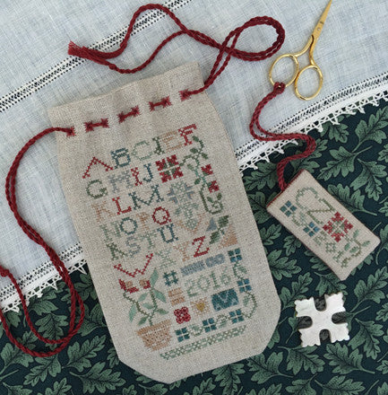 The Drawn Thread ~ Sampler Sack & Tag Chart