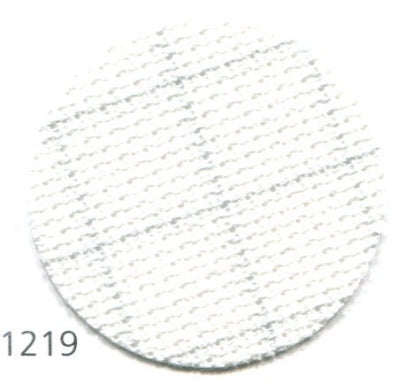 18ct Aida ~ Easy Count White/Grey - 1 Yard