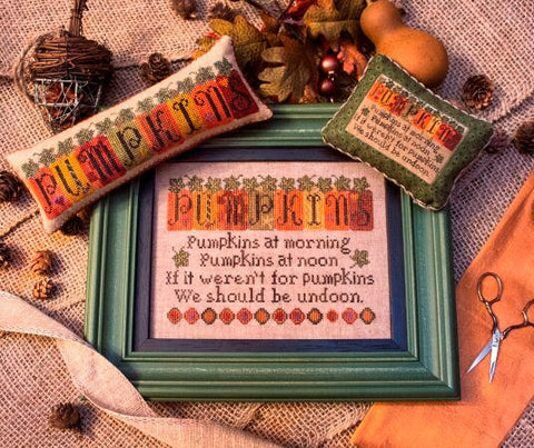 Erica Michaels Designs ~ Pumpkin Row