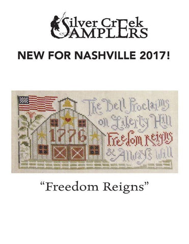 Silver Creek Samplers ~ Freedom Reigns
