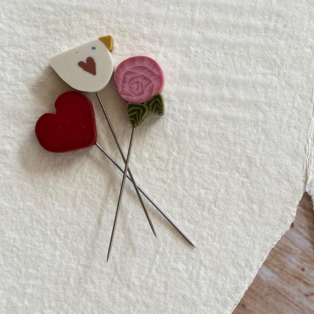 JABC ~ Mini Pins - From The Heart