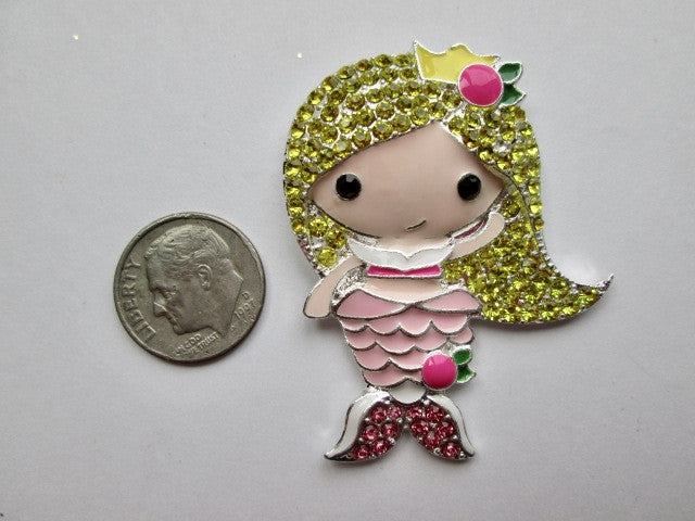 Needle Minder ~ Pretty Blond Mermaid