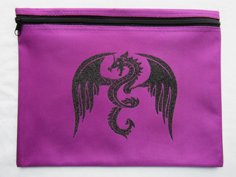 Dragon ~ Glitter Project Bag