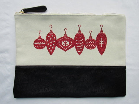 Project Zipper Bag - Christmas (One Of A Kind!)