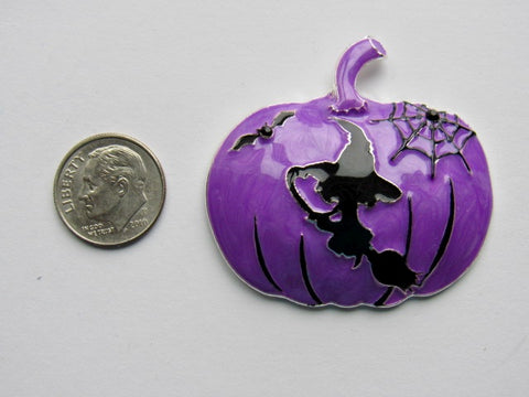 Needle Minder ~ Purple Witchy Pumpkin