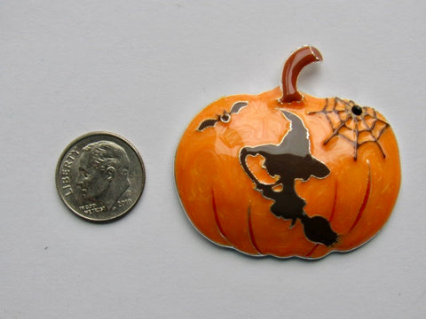 Needle Minder ~ Orange Witchy Pumpkin