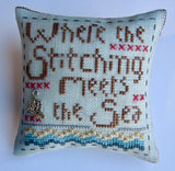 Hands On Design ~ Where The Stitching Meets The Sea w/charms (2017) Limited Edition!