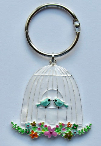 BLING! Floss Ring ~ Bird Cage