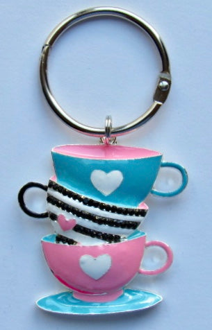 BLING! Floss Ring ~ Tea Cups