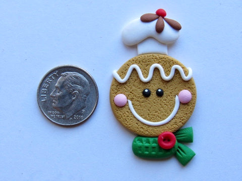Needle Minder ~ Gingerbread Baker (Clay)