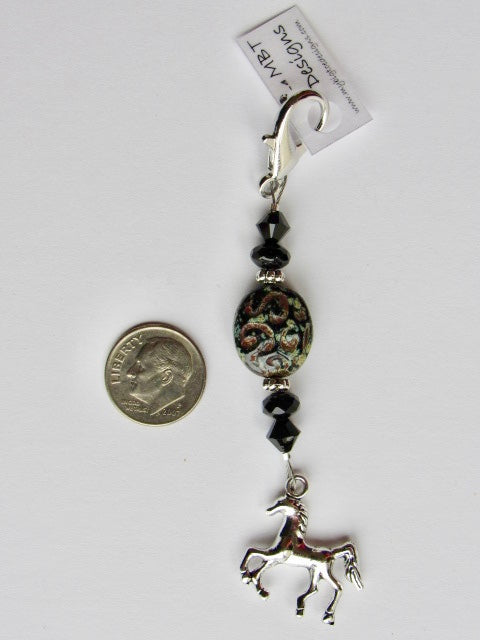 Horse Mini Fob ~ Custom & Limited # available!