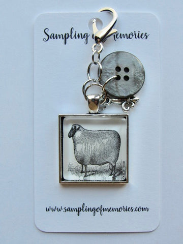 Sampling of Memories ~ Sheep Scissor Keep (VERY Limited #)