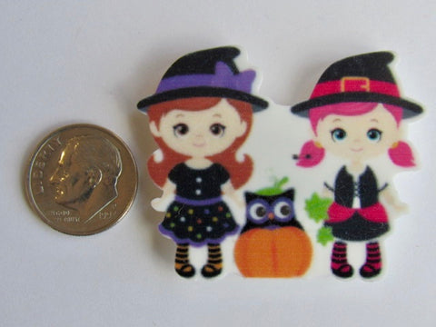 Needle Minder - Lil' Witches w/Owl
