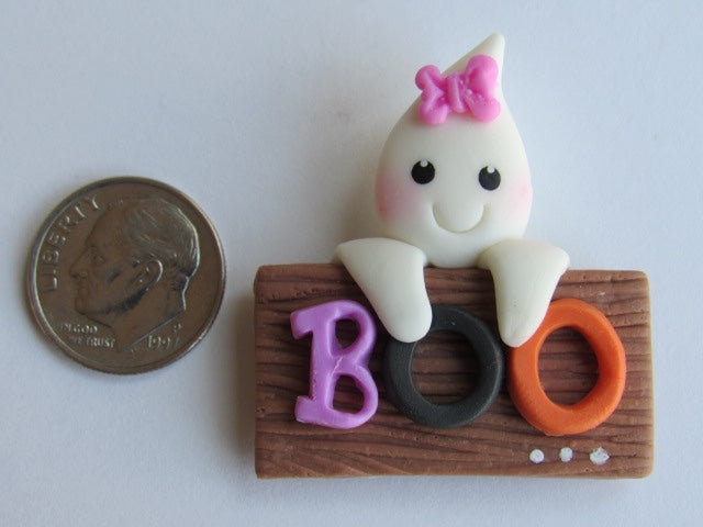 Needle Minder - Boo! (Clay)