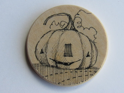 Michelle Palmer Needle Minder ~ Jack O Lantern S6 (One of a Kind!)