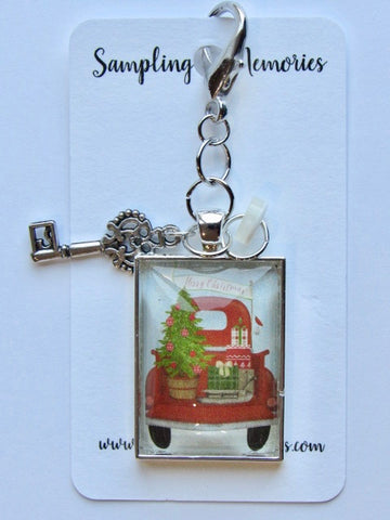 Sampling of Memories ~ Santa's Red Truck Scissor Keep (DSL Exclusive!)