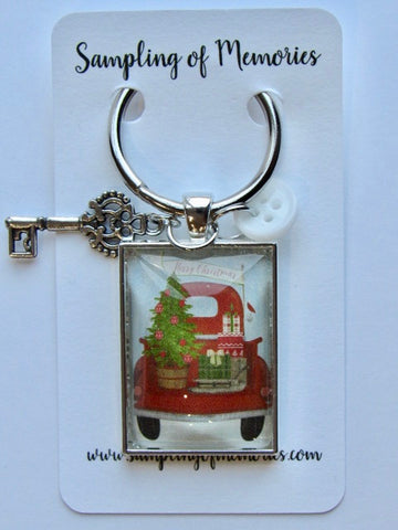 Sampling of Memories ~ Santa's Red Truck Thread Keep (DSL Exclusive!)