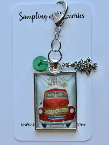 Sampling of Memories ~ Christmas Truck Scissor Keep (DSL Exclusive!)