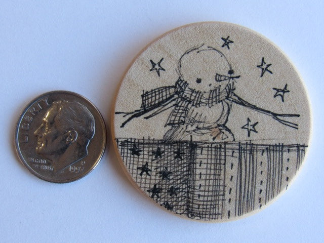 Michelle Palmer Needle Minder ~ Snow Friend N8 (One of a Kind!)