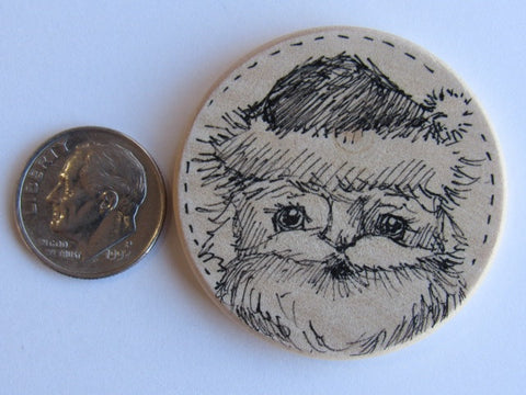 Michelle Palmer Needle Minder ~ Santa N2 (One of a Kind!)