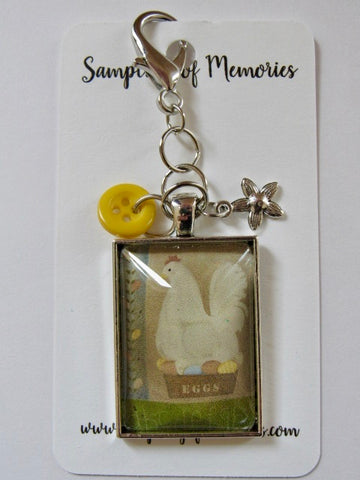 Sampling of Memories ~ Spring Chicken Scissor Keep