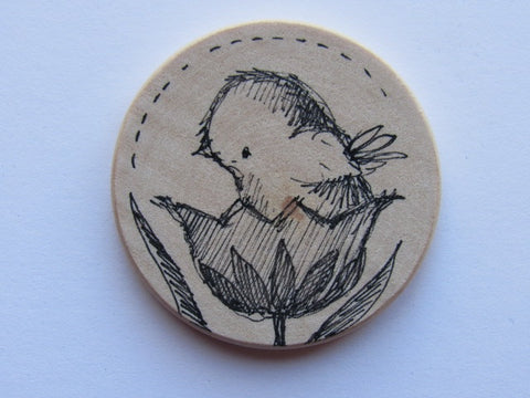 Michelle Palmer Needle Minder ~ Tulip Perch M5 (One of a Kind!)
