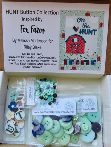 JABC ~ Button Lover's Club: HUNT Words With Buttons Monthly Box **(Very limited # available!)