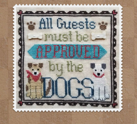 Waxing Moon Designs ~ Dog Owner's Welcome (2 patterns included)